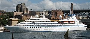 The Seabourn Spirit, Sydney Cove, Sydney, Aust...