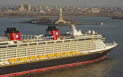 Disney Fantasy in New York